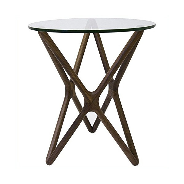 AEON Furniture Starlight Side Table in Walnut
