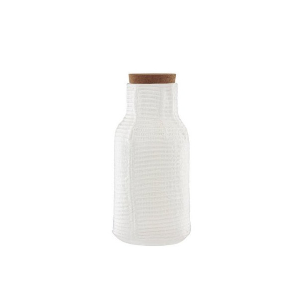Normann Copenhagen Mormor Ribbed Carafe by Gry Fager