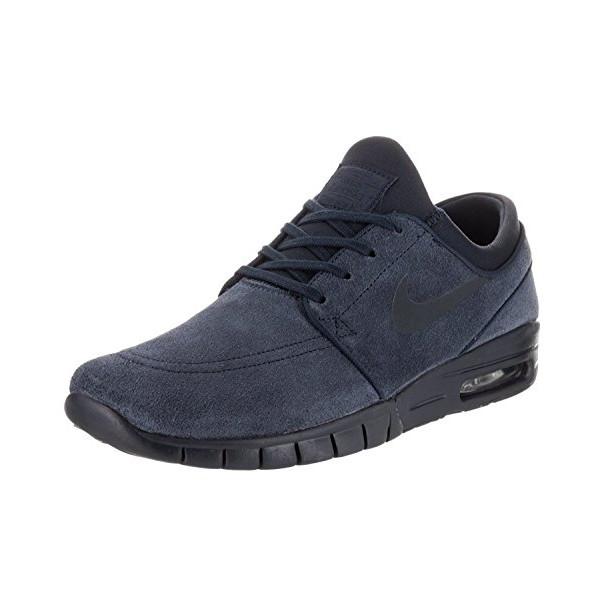 Nike Men's Stefan Janoski Max L Obsidian/Dark Obsidian Skate Shoe 11 Men US
