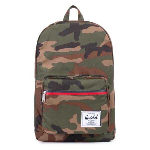 Herschel Supply Co. Pop Quiz Backpack, Woodland Camo/Zip