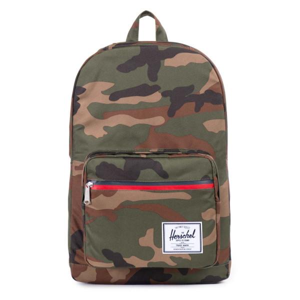 Herschel Supply Co. Pop Quiz Backpack, Woodland Camo/Zip