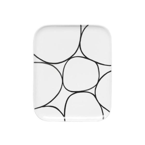 Sagaform Stoneware Appetizer Plates, Set of 2