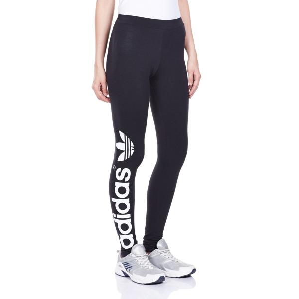 Adidas Women's Originals Trefoil Leggings, Black,10