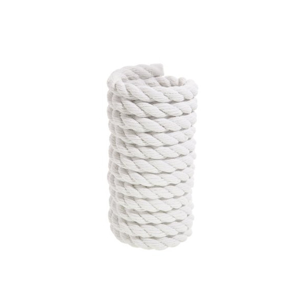 Areaware Rope Vase, White