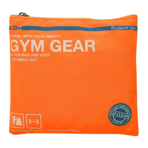 Flight 001 Go Clean Gym Gear, Neon Orange