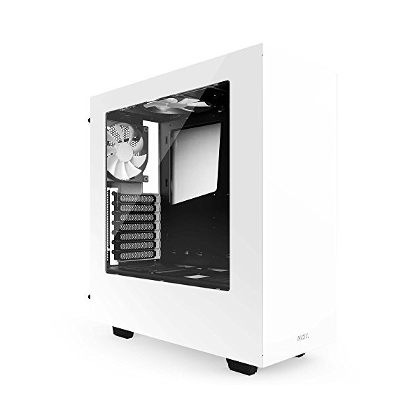 NZXT S340 Mid-Tower Case CA-S340W-W1 Glossy White