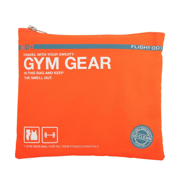 Flight 001 Go Clean Gym Gear, Orange
