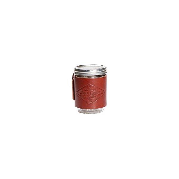 Leather Mason Jar Cozie
