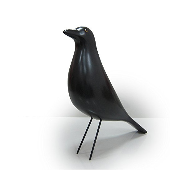 Kardiel Eames Style Black House Bird, Black