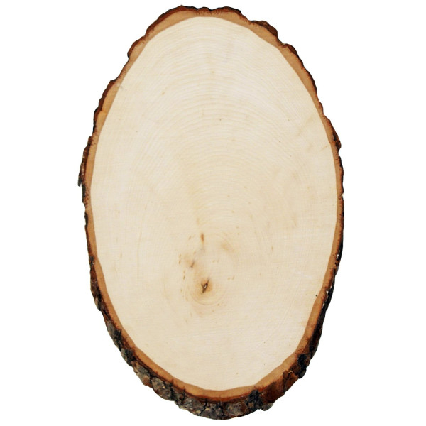 Walnut Hollow Rustic Basswood Round, Extra Large