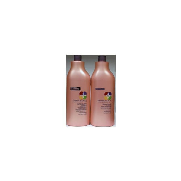 Pureology Pure Volume Shampoo 33.8 oz & Conditioner 33.8 oz Duo Set