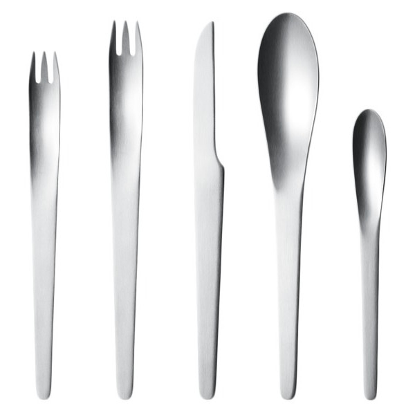 Georg Jensen Arne Jacobsen 5-piece Steel Cutlery Set