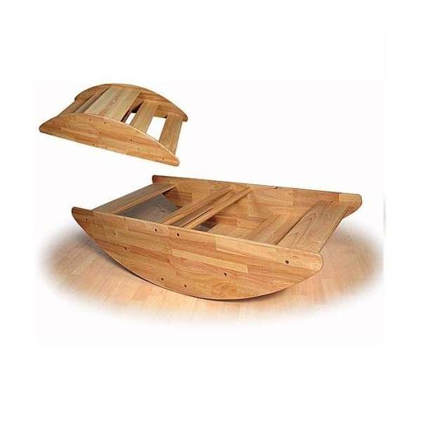 Wooden Rocking Boat - Seats up to 4 Children
