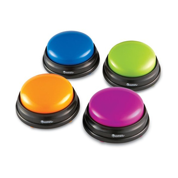 Learning Resources Answer Buzzers - Set of 4
