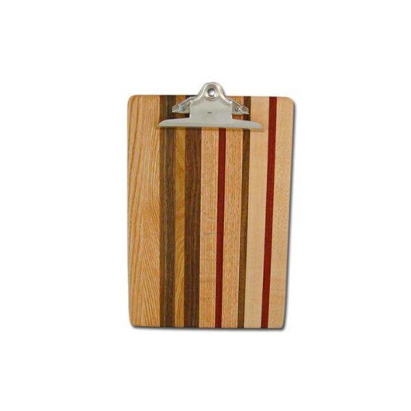 Hardwood Letter Clipboard