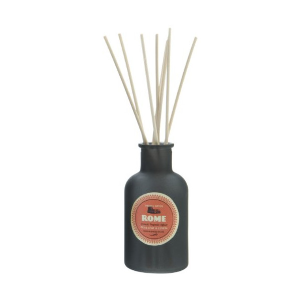 Paddywax Wanderlust Fragrance Diffuser, Rome Olive Leaf and Lemon
