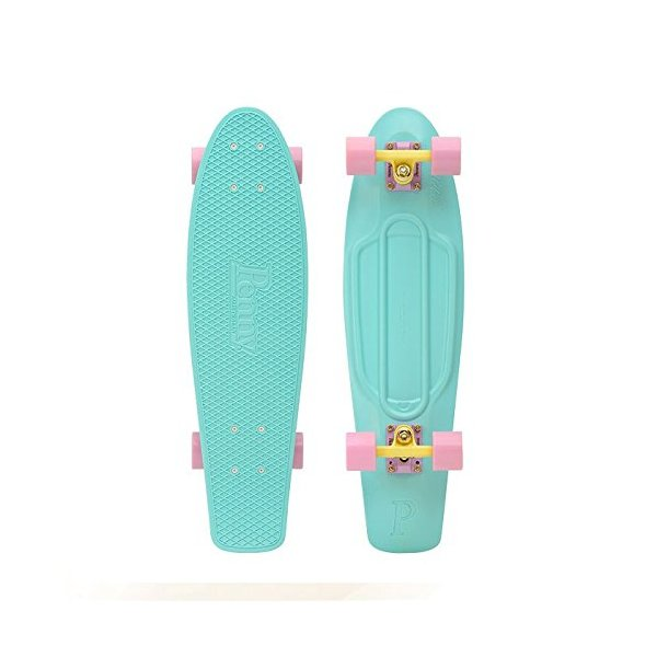 "Nickel 27"" Pastel Series Cruiser Complete Skateboard - Mint"