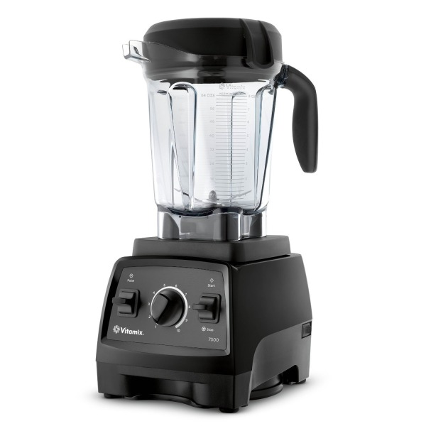 Vitamix 7500 Blender with Low Profile Jar, 2.2 HP Motor, Black
