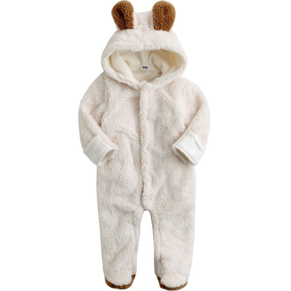 Vaenait Baby 6-24M Infant Boys Fleece Hoodie Snowsuit Romper