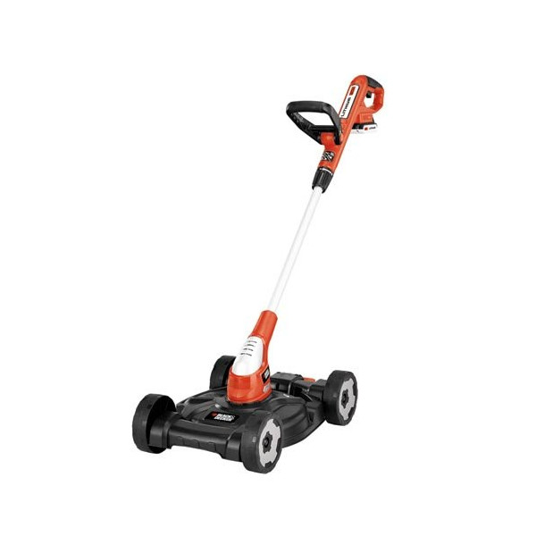 Black & Decker MTC220 12-Inch Lithium Cordless 3-in-1 Trimmer/Edger and Mower, 20-volt