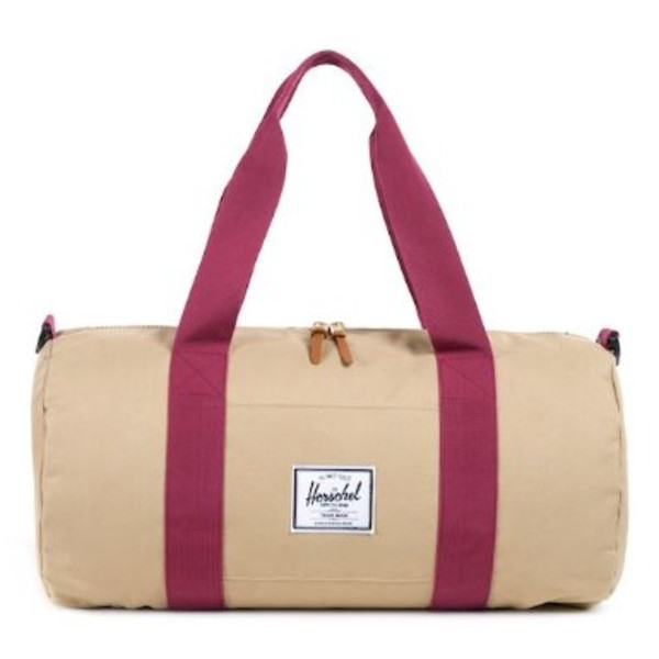Herschel Supply Co. Sutton Mid-Volume, Khaki/Burgundy, One Size