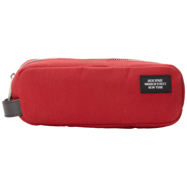 Jack Spade Shave Kit Cosmetic Bag