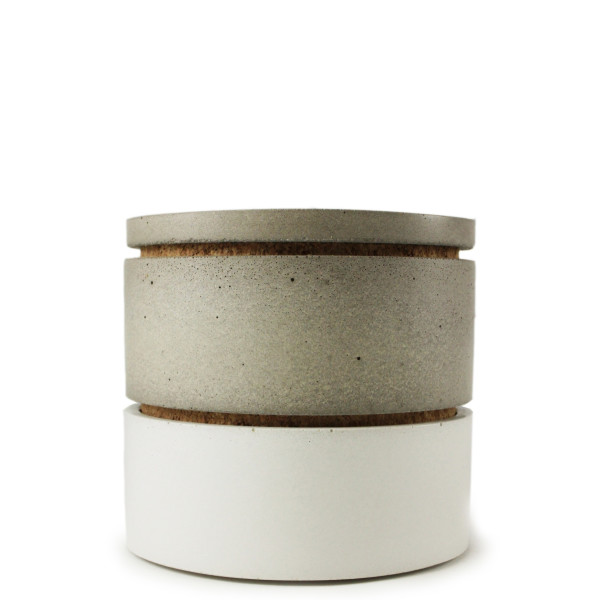 Concrete Stacking Spice Containers