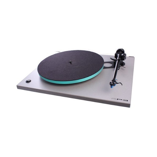 Rega - RP3 - Turntable in Titanium - Elys Cartridge Included