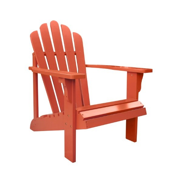 Shine Company Westport Adirondack Chair, Rust