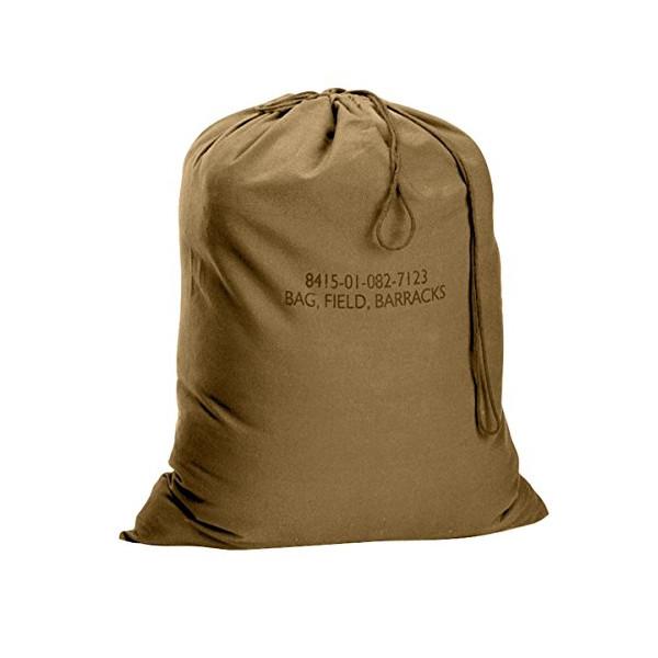 """Rothco Gi Type Barracks Bag, 24"""" x 32"""", Coyote"""