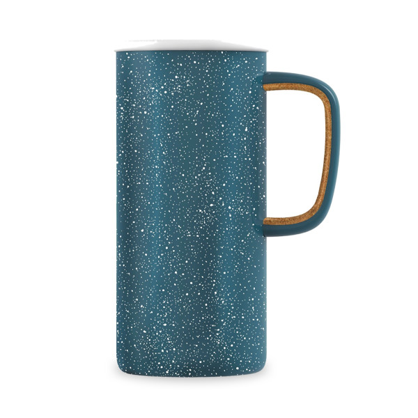 Ello Campy Stainless Steel Travel Mug, Avalon Sea, 18 oz