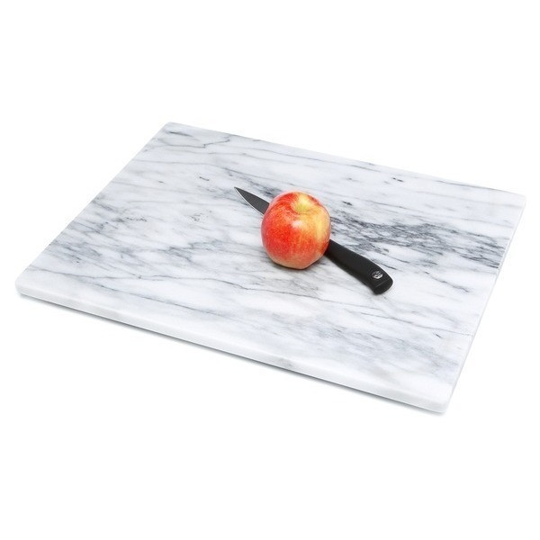 Fox Run Solid Marble Board, 12 x 16 in