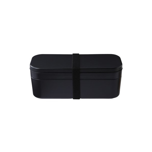 MUJI Bento/Lunch Box Plastic with Cold Insulation Agent Black