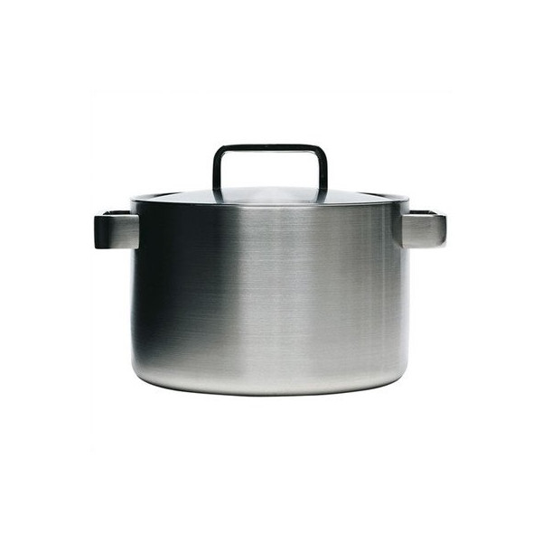 Iittala Dahlstrom 8-Quart Covered Stainless-Steel Casserole