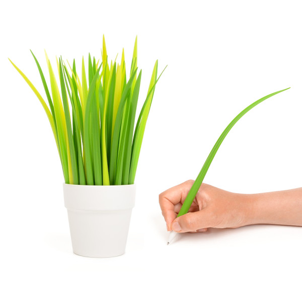 Blade of Grass Pen, Light Green, Set of 10