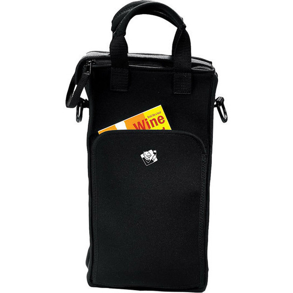 Wine Enthusiast 2-Bottle Neoprene Wine Tote Bag