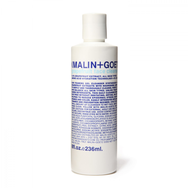 Malin + Goetz Grapefruit Face Cleanser, 8 oz.
