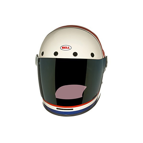 Bell RSD Viva Bullitt Street Bike Motorcycle Helmet - White/Red/Blue / 2X-Large