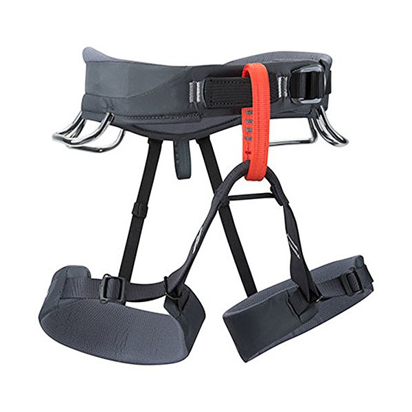 Black Diamond Momentum Climbing Harness - Men's (Graphite / Medium)