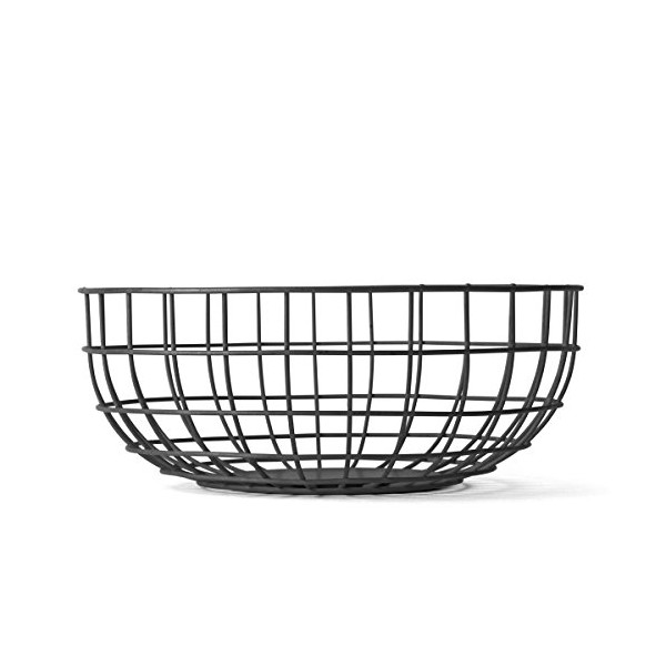 MENU Wire Bowl, Black