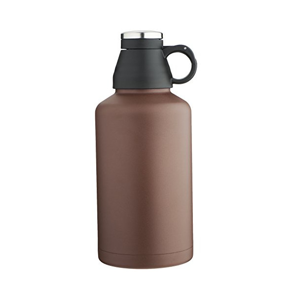 MIRA Beer Growler, Stainless Steel, Insulated