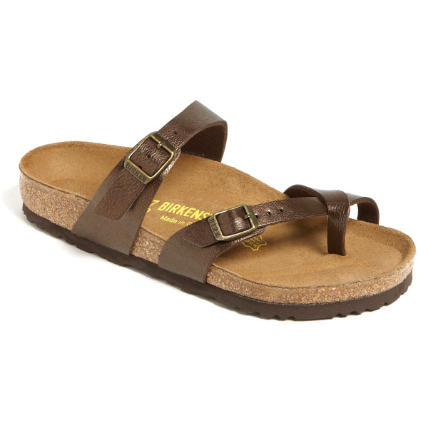 Birkenstock Mayari Women's Sandal, Mocca Leather
