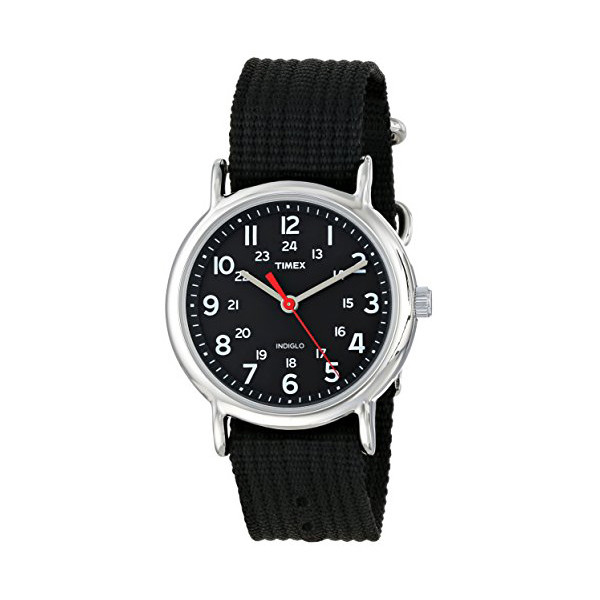 Timex Men's Weekender Watch with Black Nylon Strap