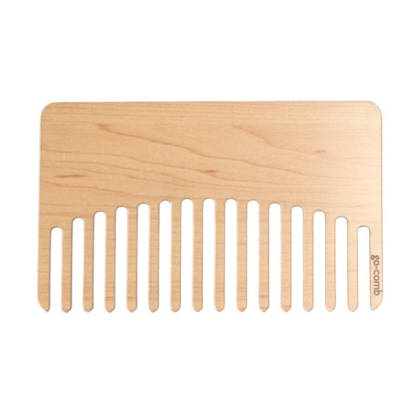 Pine Go-Comb - Travel, Wallet & Pocket Hair Comb