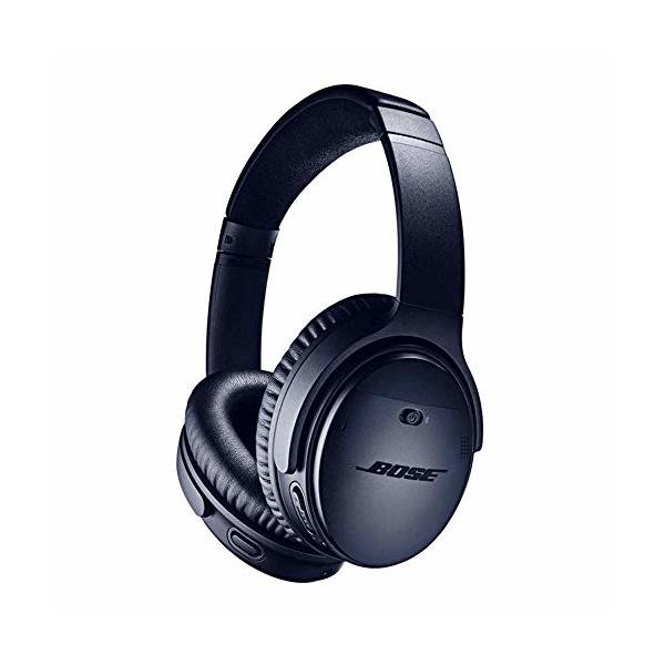 Bose QuietComfort 35 (Series II) Wireless Headphones, Noise Cancelling, with Alexa voice control – Limited Edition Triple Midnight