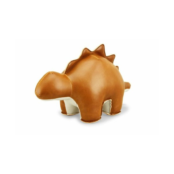 Zuny Stegosaurus Saru (Tan) Animal Bookend