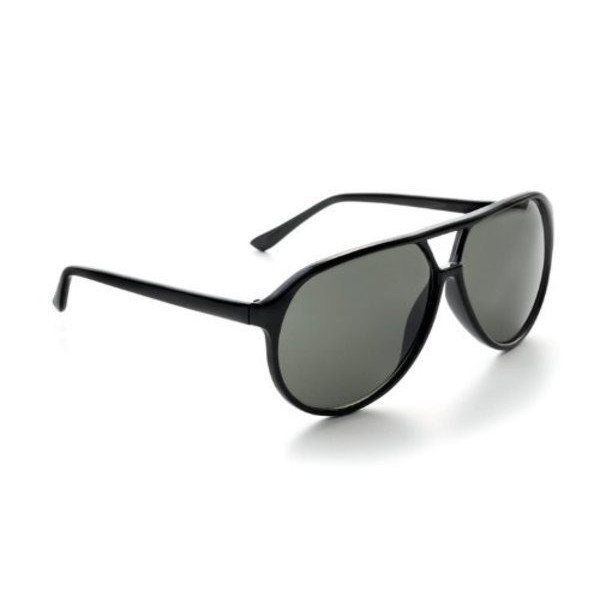 Zoom Classic Sunglasses Black Frames/Smoke Lenses
