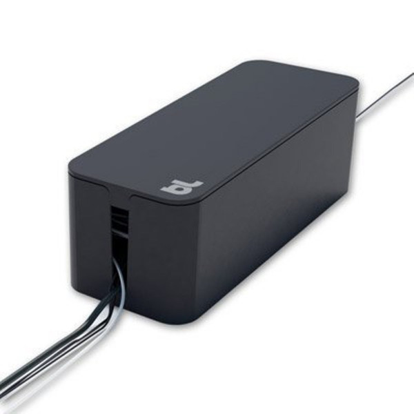 Bluelounge Cable Box Cable Management /Tidy Solution in Black
