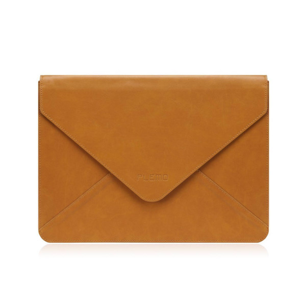 Plemo Water-Resistant PU Leather Sleeve for iPad and Macbook, 13""