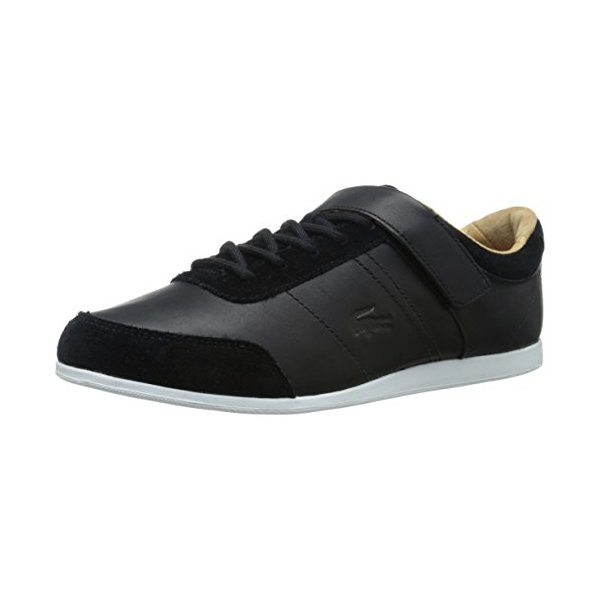 Lacoste Men's Embrun 3 Fashion Sneaker, Black, 9.5 M US